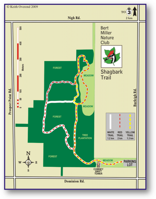Shagbark Nature Park Map